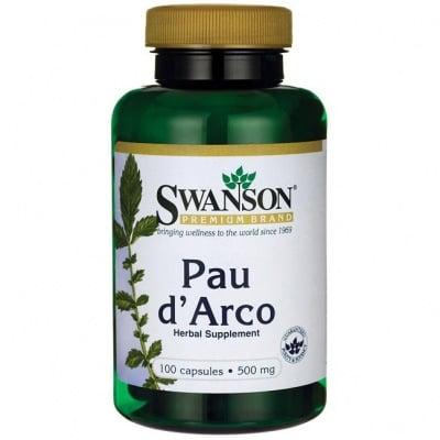 ПАУ ДАРКО  500 мг. естествена защита за организма * 100капс.