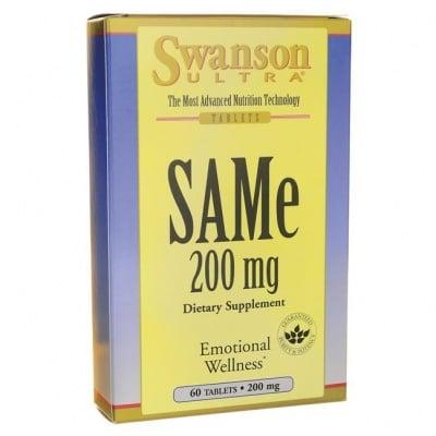 САМ-Е 200 мг. * 60таблетки , СУОНСЪН