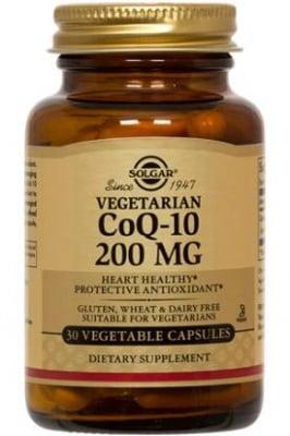 КОЕНЗИМ Q10 200 мг. при хронични заболявания * 30капс., СОЛГАР