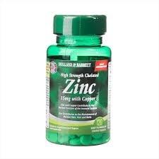 ХЕЛАТИРАН ЦИНК 15 мг С МЕД таблетки * 120 HOLLAND & BARRETT
