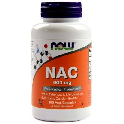 N - АЦЕТИЛ ЦИСТЕИН 600 мг. * 100капс., НАУ ФУДС