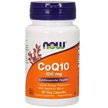 НАУ ФУДС КОЕНЗИМ Q10 капс. 100 мг. * 30