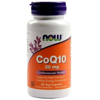 НАУ ФУДС КОЕНЗИМ Q10 капс. 30 мг. * 60