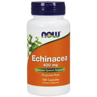 ЕХИНАЦЕЯ  zа хора, които често боледуват и е необходимо да подсилят имунитета си 400 мг. * 100капс., НАУ ФУДС