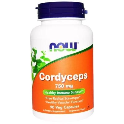 КОРДИЦЕПС антиоксидант и имуностимулатор 750 мг. * 90капс., НАУ ФУДС