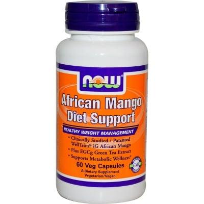 АФРИКАНСКО МАНГО - забързва метаболитните процеси - капсули х 60, NOW FOODS