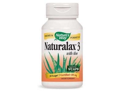 НАТУРАЛАКС - оказва слабително действие - капсули 430 мг. х 100, NATURE'S WAY
