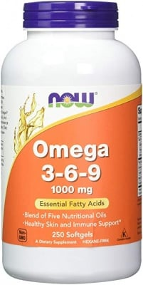 ОМЕГА 3 - 6 - 9 1000 мг. * 250дражета, НАУ ФУДС
