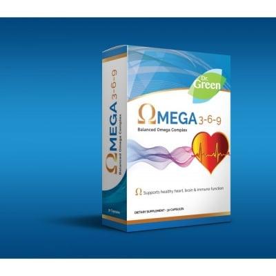 ОМЕГА 3-6-9 1000 мг. за по-силен имунитет, здраво сърце и памет * 30капсули, ДР.ГРИЙН