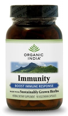 ИММЮНИТИ -  подсилване на имунитета - капсули 275 мг. x 90,  ORGANIC INDIA