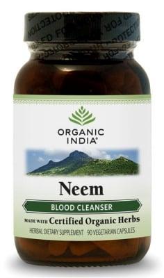 НИЙМ - пречистване на кръвта - капсули 325 мг. x 90, ОРГАНИК ИНДИЯ