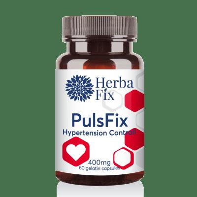 ПУЛСФИКС регулира кръвното налягане, при аритмия и химертония * 60 капсули