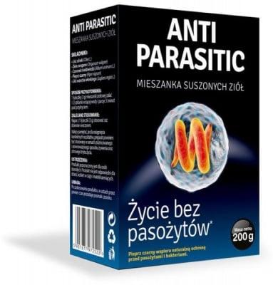 АНТИПАРАЗИТ - Билкова смес за борба с паразити и бактерии, 200 гр.