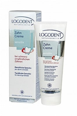 ПАСТА ЗА ЗЪБИ СЕНЗИТИВ - за чувствителни венци и зъби 75 мл., LOGONA