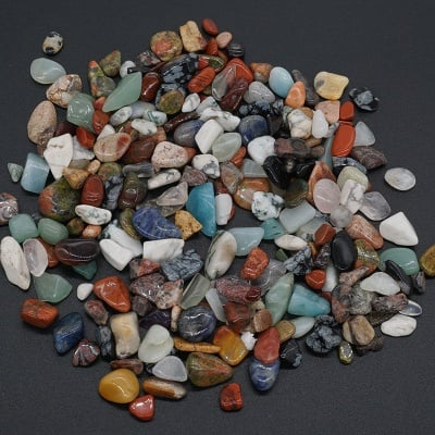 Минерален Микс -  опал, халцедон, ягодов кварц и други - Ню Ейдж, 0.500 кг