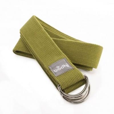 Йога колан и лента за пренасяне - 2 в 1, различни цветове