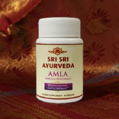 АМЛА - подпомага храносмилането и функциите на черния дроб - таблетки х 60, SRI SRI AYURVEDA