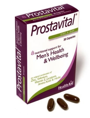 ПРОСТАВИТАЛ - за здравето на простатата - капсули х 30, HEALTH AID