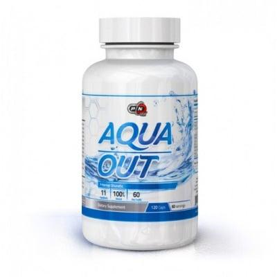 ПЮР НУТРИШЪН АКВА АУТ - подпомага изхвърлянето на излишната течност от организма - капсули х 120, ПЮР НУТРИШЪН