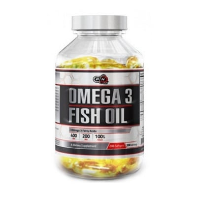 ОМЕГА-3 РИБЕНО МАСЛО -  поддържа нервната, зрителната и мозъчната функция - дражета х 100 бр., ПЮР НУТРИШЪН