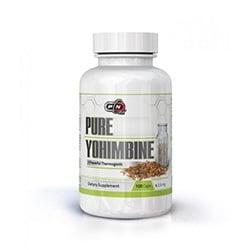 100% ЙОХИМБИН - за тонус и енергия, мощен афродизиак - капсули 2,5 мг., х 100, ПЮР НУТРИШЪН