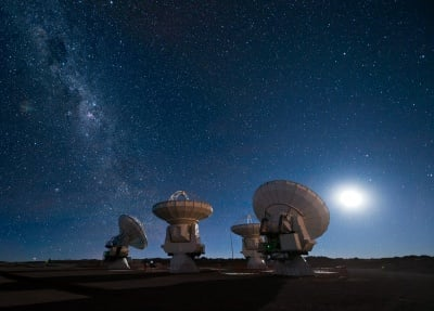 Калифорнийски учени са уловили радиосигнал с извънземен произход