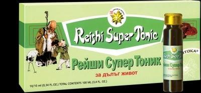 РЕЙШИ + ЖЕН-ШЕН - еликсира на вечната младост - флакони 10мл. х 10, TNT 21