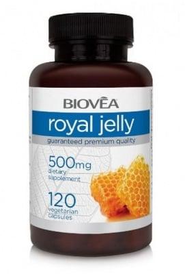 ПЧЕЛНО МЛЕЧИЦЕ - подпомага нормалните процеси и функции в тялото - капсули 500 мг. х 120, BIOVEA