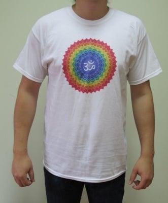 СЕДМА ЧАКРА (САХАСРАРА) – тениска – бяла, унисекс