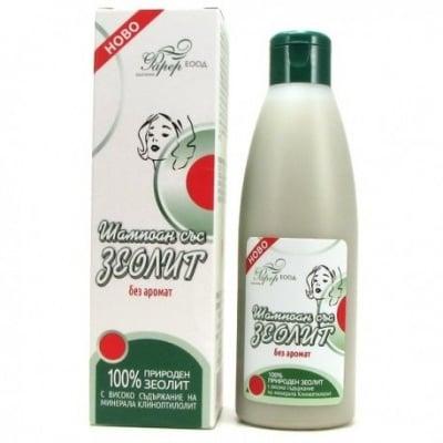 ЗЕОЛИТ ШАМПОАН без аромат, за всеки тип коса 200 мл.