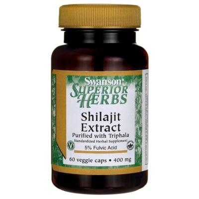 ШИЛАЖИТ ЕКСТРАКТ 400 мг. системно подмладяващо средство* 60капс.