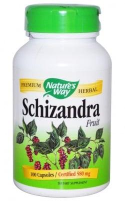 ШИЗАНДРА - една от десетте най-чисти билки - капсули 580 мг. х 100, NATURE'S WAY