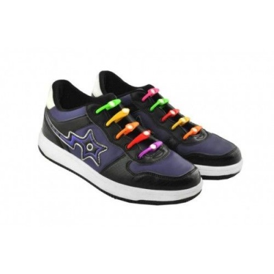 Силиконови връзки за обувки - едноцветни и многоцветни