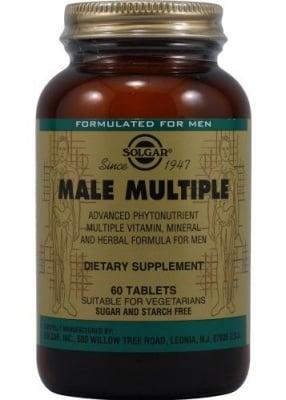 МУЛТИВИТАМИНИ ЗА МЪЖЕ - специално за нуждите на съвременните мъже - таблетки х 60, SOLGAR
