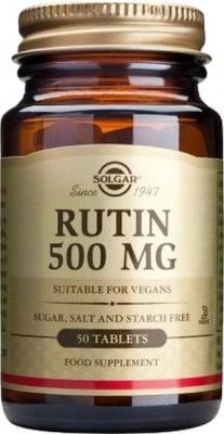 РУТИН - подпомага циркулацията на кръвта - таблетки 500 мг. х 50, SOLGAR