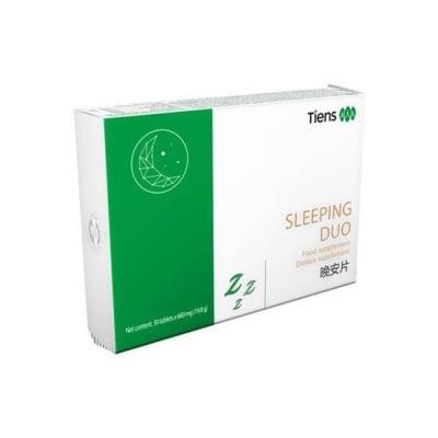 ДУО ПРИСПИВАТЕЛНИ при непълноценния сън, умора и затруднена концентрация * 30таблетки, TIENS