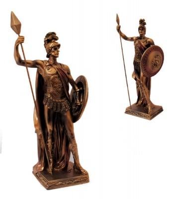 СТАТУЯ БОГ МАРС 55 см.- символ на смелост и безстрашие, COSMOPOLIS