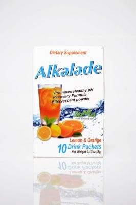 АЛКАЛАДА - за подобряване на електролитния баланс и алкално-киселинното равновесие в организма - сапшета 5 гр. x 10, SUPPLETEC NUTRITION