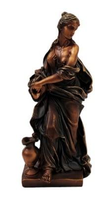 СТАТУЯ НА ЖЕНА С АМФОРА - за плодородие и късмет, COSMOPOLIS