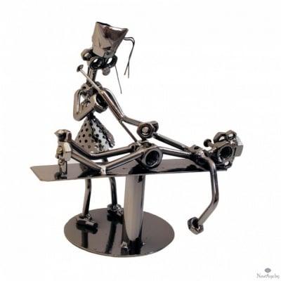 Сувенир Медицинска сестра - 19см, метал