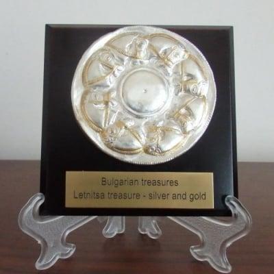 Сувенир с художествена реплика - съкровището от Летница, син на Слънцето