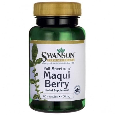 МАКУЙ БЕРИ ФУЛ СПЕКТРУМ 400 мг. дава енергия и укрепва имунната система * 60капсули, СУОНСЪН