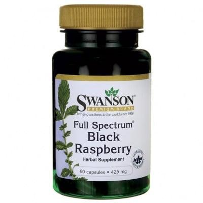 ЧЕРНА МАЛИНА ФУЛ СПЕКТРУМ 425 мг. богата на витамин Ц, антиоксидантна защита * 60капсули, СУОНСЪН