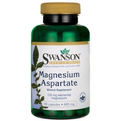 МАГНЕЗИЕВ АСПАРТАТ за здравето на мускулите и нервната система 685 мг * 90капсули, СУОНСЪН