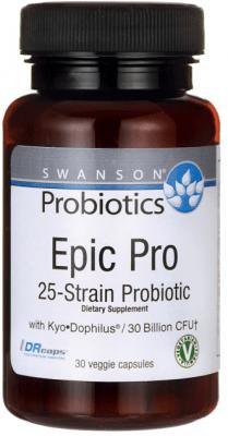 ПРОБИОТИК ЕПИК-ПРО 25 ЩАМА оптимизира чревната микрофлора * 30капсули, СУОНСЪН