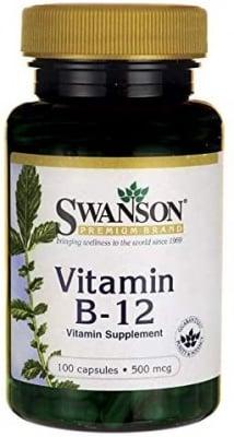 ВИТАМИН Б12 - поддържа сърдечното здраве - 500 мкг. * 100капс.