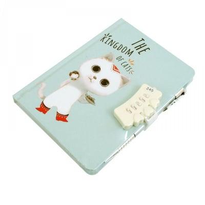 Таен дневник с шифър и химикал, коте