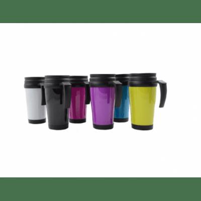 Термо чаша за кола - 450 мл., различни цветове