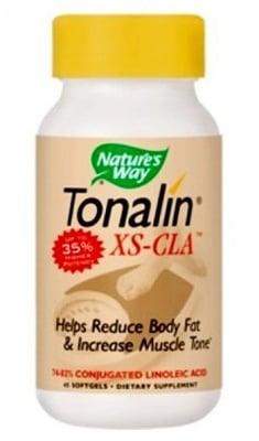ТОНАЛИН КЛА - нормализира телесното тегло и укрепва мускулите - капсули х 45, NATURE'S WAY