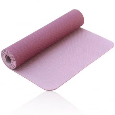 TPE YOGA MAT LOTUS PRO - постелка/шалте за йога, BODHI YOGA